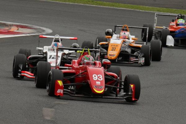 Sena Sakaguchi, TODA Racing FIGHTEX Dallara F316 Toda, 2nd position.