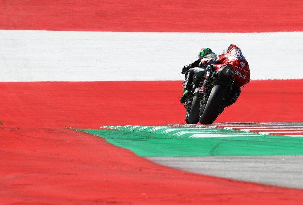 Franco Morbidelli, Petronas Yamaha SRT , Danilo Petrucci, Ducati Team .