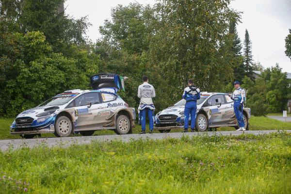 Teemu Suninen (FIN) and Esapekka Lappi (FIN), M-Sport Ford WRT, Ford Fiesta WRC 2020