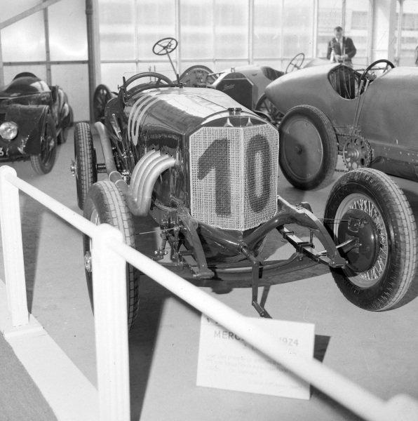 Mercedes Benz single seater racing car, 1920's.