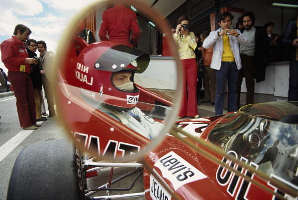 Niki Lauda, March 721X Ford.