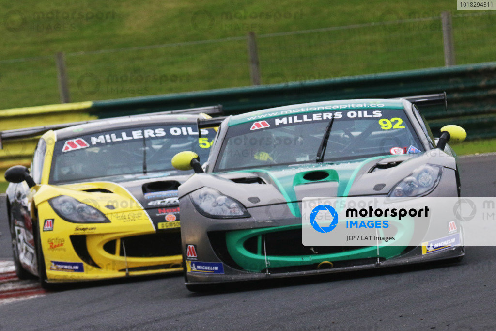 Jamie Falvey - Motion Capital Racing Ginetta G55