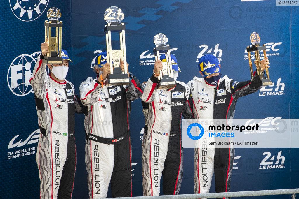 Rebellion Racing, Rebellion R13-Gibson: Gustavo Menezes, Norman Nato, Bruno Senna