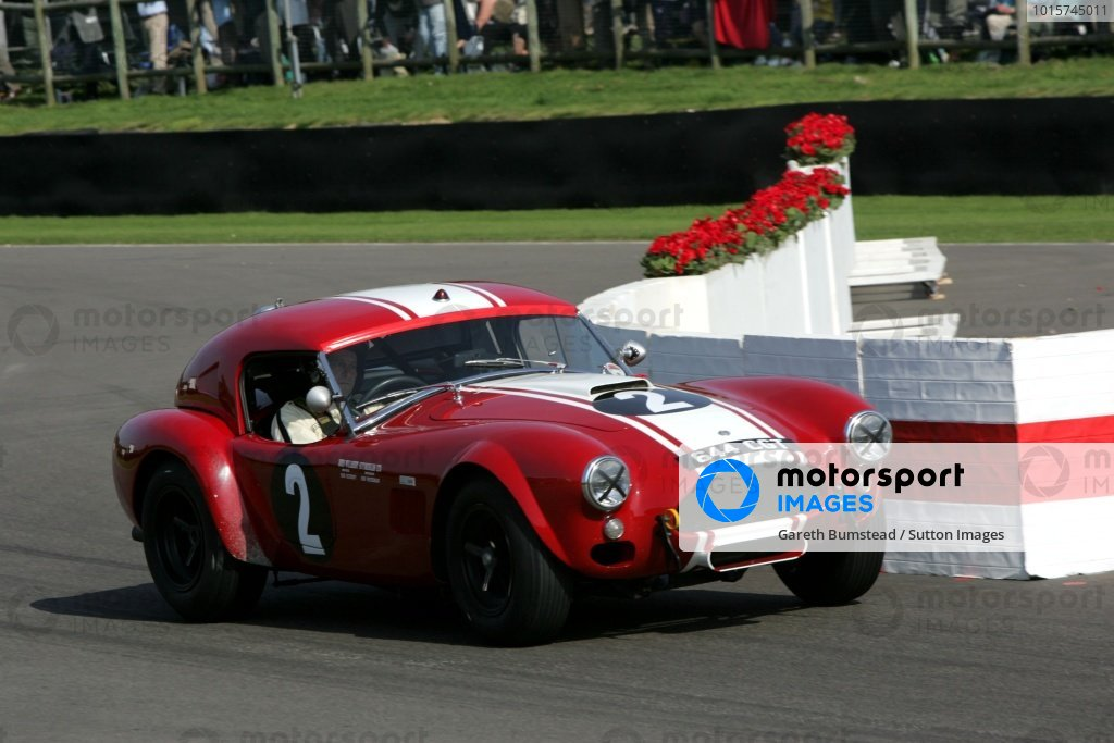 Shaun Lynn / Jackie Olivier AC Cobra Le Mans Coupe