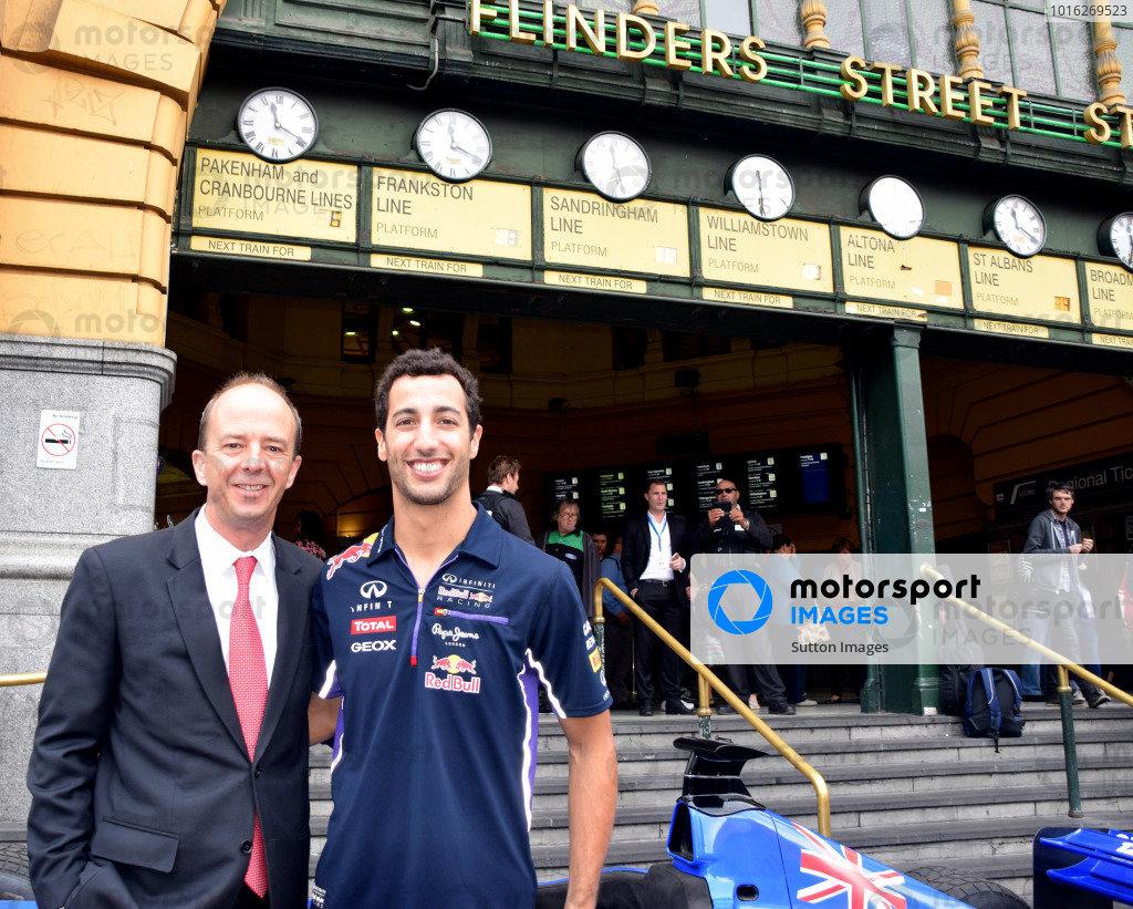 2015 Australian Grand Prix Launch