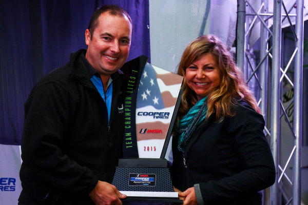 30 September - 2 October, 2015, Braselton, Georgia USA IMSA Cooper Tire Prototype Lites L1 Team Champion  ?2015, Jake Galstad LAT Photo USA