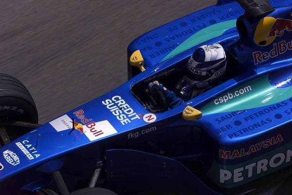 Kimi Raikkonen(FIN) Sauber Petronas C20 Monaco Grand Prix Practice, Monte Carlo 24 May 2001 DIGITAL IMAGE