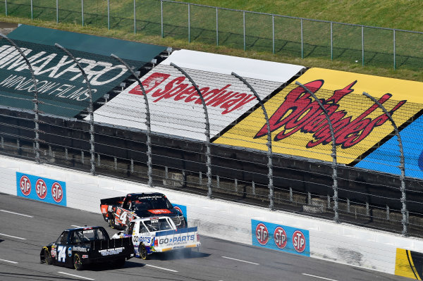 1-2 April, 2016, Martinsville, Virginia USA Christopher Bell (4) spins on the backstretch. ?2016, John Harrelson / LAT Photo USA