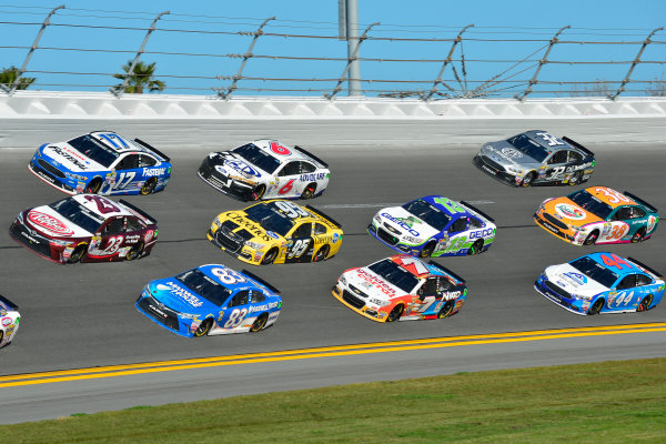 13-21 February, 2016, Daytona Beach, Florida USA David Ragan, Michael Waltrip, Ricky Stenhouse Jr ?2016, Logan Whitton  LAT Photo USA