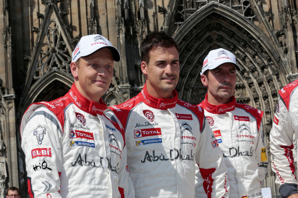 2013 FIA World Rally Championship Round 09-Rally Germany 21-25/8 2013. Mikko Hirvonen, Dani Sordo, Citroen, portrait  Worldwide Copyright: McKlein/LAT