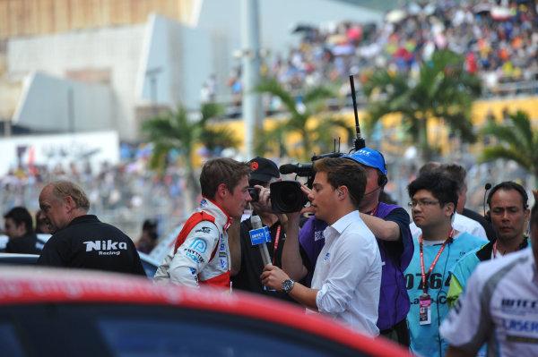 2013 World Touring Car Championship. Round 12 - Circuit de Guia, Macau, China. Sunday 17 November 2013. Race1, James Nash (GBR) Chevrolet Cruze 1.6 T, Bamboo Engineering. World Copyright: XPB Images / LAT Photographic. ref: Digital Image PHOTO4_560464