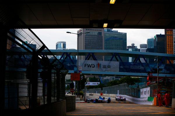 Suzuka Circuit, Japan. Sunday 09 October 2016. Antonio Felix da Costa (28, Andretti Formula E) World Copyright: Zak Mauger/LAT Photographic ref: Digital Image _X0W1757