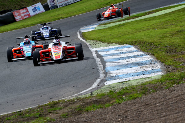 2016 British Formula 4 Championship, Knockhill, Scotland. 12th - 14th August 2016. Nicolai Kjaergaard (DK) Fortec Motorsports Ford British F4. World Copyright: Ebrey / LAT Photographic.