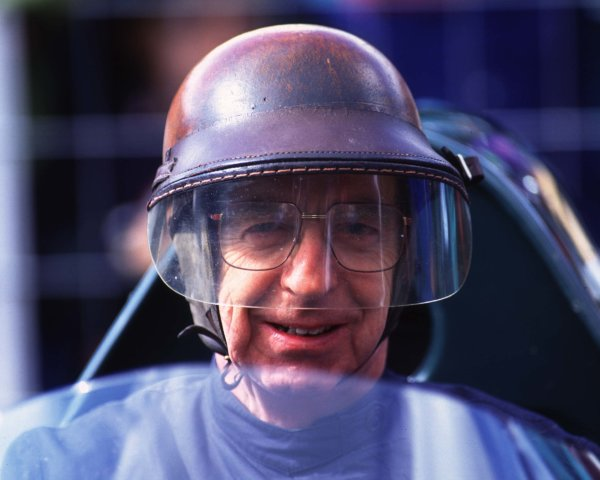 1998 Goodwood Festival of Speed. Goodwood, Sussex, England. 11th March 1998.Tony Brooks, portrait. World Copyright: LAT Photographic.  Ref:  brooks01.