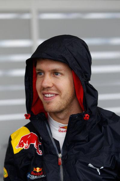 Suzuka Circuit, Suzuka, Japan. 9th October 2010. Sebastian Vettel, Red Bull Racing RB6 Renault. Portrait.  World Copyright: Andrew Ferraro/LAT Photographic ref: Digital Image _Q0C8923