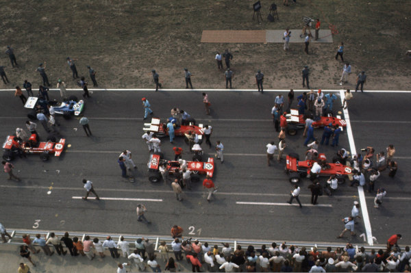 German Grand Prix, Hockenheim, 31 Jul - 2 Aug 70