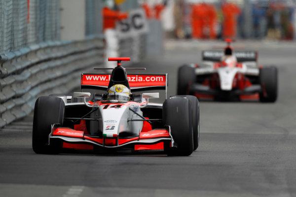 Monte Carlo, Monaco. 15th May 2010. Saturday Race.Luiz Razia (BRA, Rapax). Action. Photo: Andrew Ferraro/GP2 Media Service.Ref: _Q0C7428 jpg