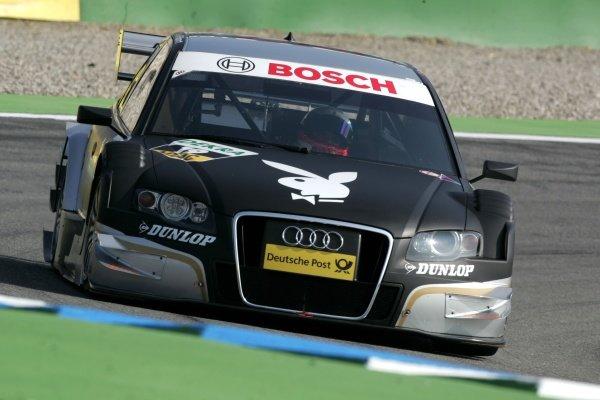 Markus Winkelhock (GER) Audi Sport Team Rosberg  DTM, Rd 1, Hockenheim, Germany, 12-13 April 2008.
