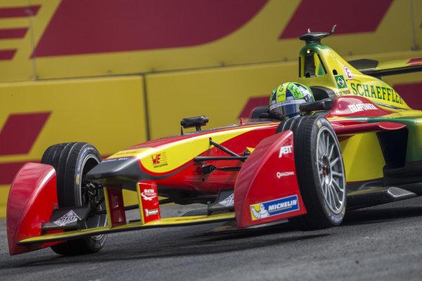 Lucas di Grassi (BRA) - Audi Sport ABT at Formula E Championship, Rd9, Moscow, Russia, 4-6 June 2015.