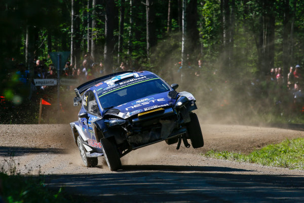 2017 FIA World Rally Championship, Round 09, Rally Finland / July 27 - 30, 2017, Teemu Suninen  Worldwide Copyright: McKlein/LAT