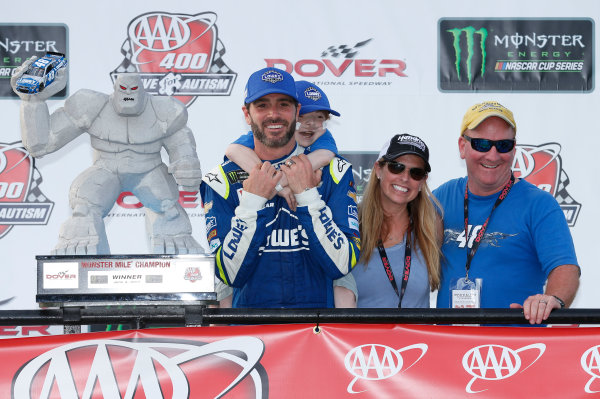 Monster Energy NASCAR Cup Series AAA 400 Drive for Autism Dover International Speedway, Dover, DE USA Sunday 4 June 2017 Jimmie Johnson, Hendrick Motorsports, Lowe's Chevrolet SS World Copyright: Matthew T. Thacker LAT Images ref: Digital Image 17DOV1mt1945