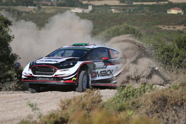 2017 FIA World Rally Championship, Round 07, Rally Italia Sardegna, June 8-11, 2017, Elfyun Evans, Ford, action Worldwide Copyright: McKlein/LAT