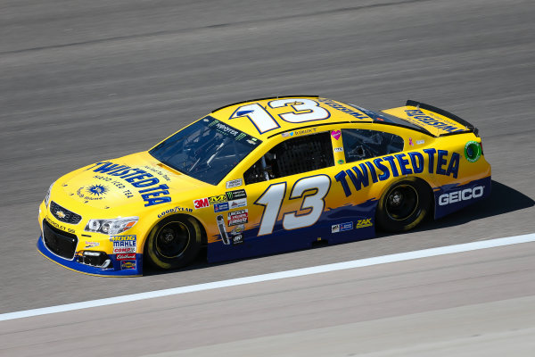 Monster Energy NASCAR Cup Series Go Bowling 400 Kansas Speedway, Kansas City, KS USA Friday 12 May 2017 Ty Dillon, Germain Racing, Twisted Tea Chevrolet SS World Copyright: Barry Cantrell LAT Images ref: Digital Image 17KAN1bc1052
