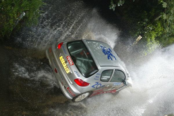 Garry Jennings/Gordon Noble. Manx International Rally. July 31st - August 2nd 2003. World copyright Jakob Ebrey/Lat Photographic.