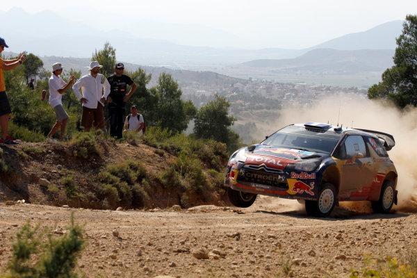 Round 07 Acropolis Rally. 16th - 19th June 2011.Sebastien Ogier, Citroen WRC, Action.Worldwide Copyright: McKlein/LAT