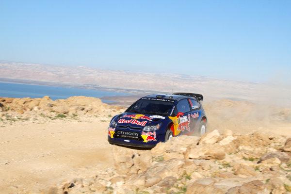 2010 FIA World Rally ChampionshipRound 01Rally Jordan 31/3 - 3/4  2010Kimi Raikkonen, Citroen WRC, ActionWorldwide Copyright: McKlein/LAT
