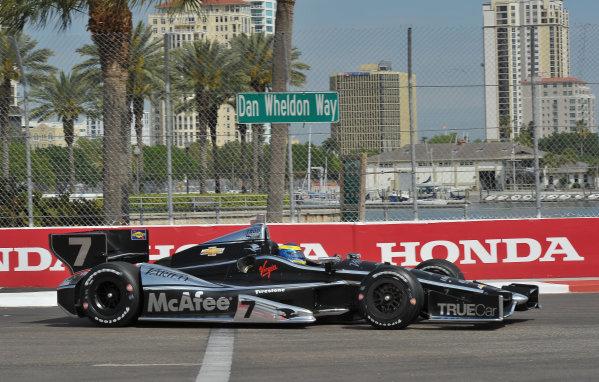 22-24 March, 2013, St Petersburg, Florida USA.#7 Sebastien Bourdais Dragon Racing Chevrolet ©2013, Dan R.  LAT Photo USA