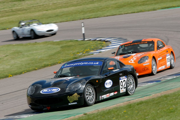 2013 Ginetta GT5 Challenge Rockingham, 5th and 6th May, 2013 Alex Drabble World Copyright. Ebrey/LAT Photographic