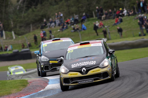 2015 Renault Clio Cup, Knockhil, Scotland 22nd-23rd August 2015, Ant Whorton Eales (GBR) Maximum Motorsport Renault Clio Cup  World copyright. Ebrey/LAT Photographic