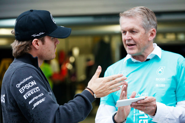 Sochi Autodrom, Sochi, Russia. Sunday 11 October 2015. Nico Rosberg, Mercedes AMG. World Copyright: Alastair Staley/LAT Photographic ref: Digital Image _79P1572