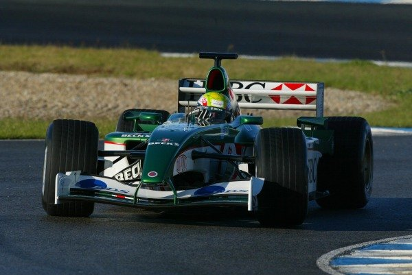 Mark Webber (AUS) Jaguar Racing R3 