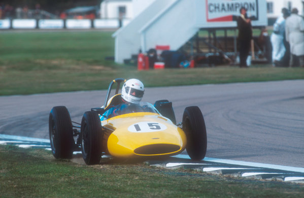 2001 Goodwood Revival.Goodwood, Sussex, England.15-16 September 2001.Brian Ashby (Emeryson-Climax) in the Glover Trophy race. Ref-01 GR 41.World Copyright - LAT Photographic