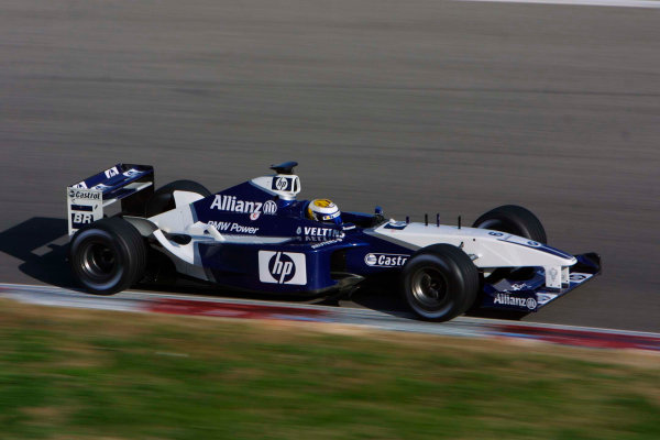 2002 Formula One TestingBarcelona, Spain. 3rd December 2002Nico Rosberg, BMW WilliamsWorld Copyright - Rose/LATref: digital file only