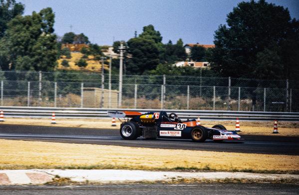 Gianfranco Trombetti, March 742 BMW.