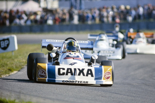 Alex Ribeiro, March 762 BMW/Rosche.
