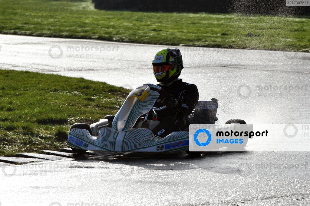 Lando Norris Karting