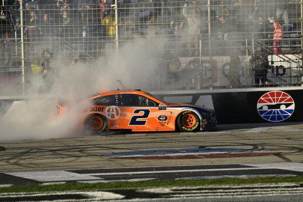 #2: Brad Keselowski, Team Penske, Ford Mustang wins