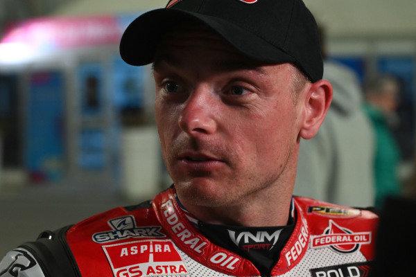 Sam Lowes, Gresini Racing.