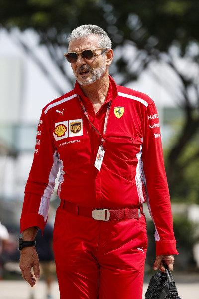 Maurizio Arrivabene, Team Principal, Ferrari.
