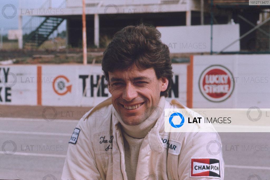 Formula 1 World Championship.Tom Pryce.Ref-P23A 01.World - LAT Photographic