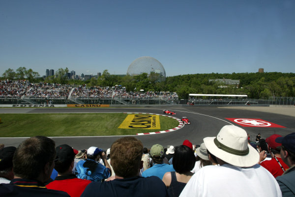 2002 Canadian Grand Prix - Friday PracticeMontreal, Canada. 7th June 2002.World Copyright: LAT Photographic.ref: Digital Image Only