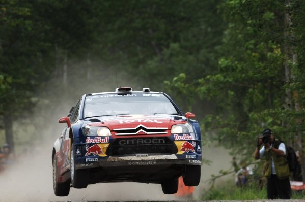 FIA World Rally Championship, Rd 8.June 25 - 28, 2009Rally Poland, Mikolajki, Poland.Day 1, Friday June 26, 2009.Dani Sordo (ESP) on stage 7.DIGITAL IMAGE