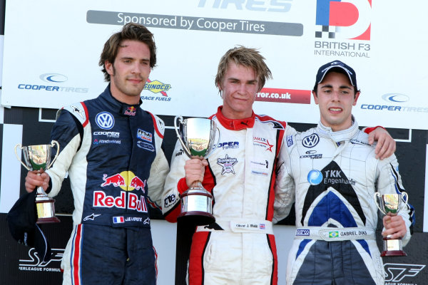 Magny Cours, France. 21st-23rd May 2010,Vergne, Webb and DiasWorld copyright: Ebrey/LAT Photographic