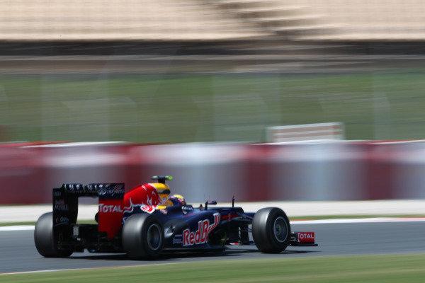 Circuit de Catalunya, Barcelona, Spain11th May 2012Mark Webber, Red Bull RB8 Renault. World Copyright:Andy Hone/LAT Photographicref: Digital Image  HONY9140