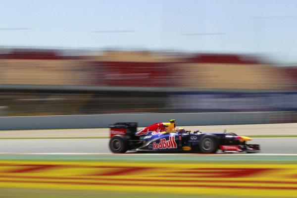Circuit de Catalunya, Barcelona, Spain11th May 2012Mark Webber, Red Bull RB8 Renault. World Copyright:Andrew Ferraro/LAT Photographicref: Digital Image  _Q0C8617