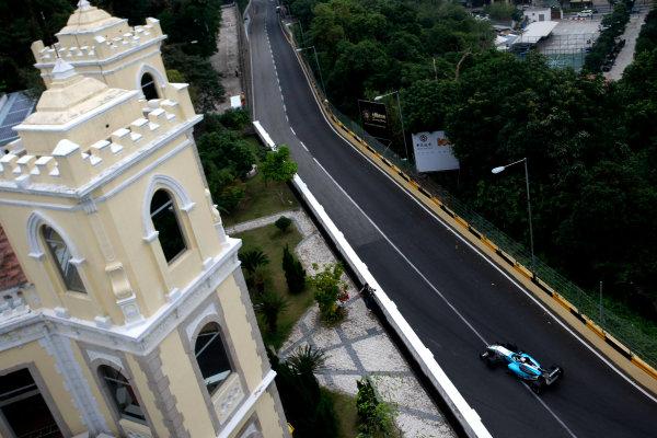 2012 Macau Grand Prix. Circuit de Guia, Macau. 15th - 18th November 2012. Daniel Juncadella (ESP) Prema Powerteam Dallara Mercedes. World Copyright: Ebrey/LAT Photographic.